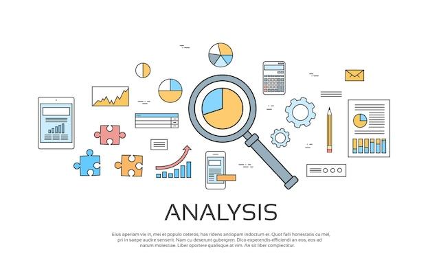 Analyse concept financiën diagram