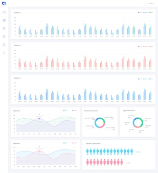 Analyse grafieken infographic