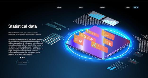 Analyse trends en software ontwikkeling codering proces concept. programmeren, testen van cross-platform code serverruimte datacenter. back-up, mijnbouw, hosting, mainframe, boerderij.