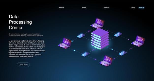 Analyse trends en software ontwikkeling codering proces concept. programmeren, testen van cross-platformcode isometrisch digitaal beveiligingsmechanisme, systeemprivacy.