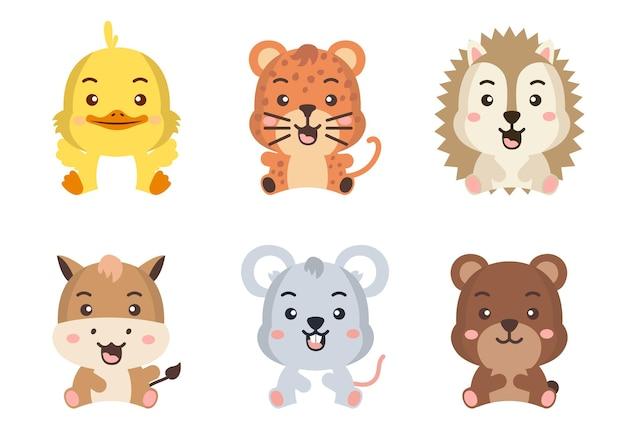 Andere stijl van wilde dieren