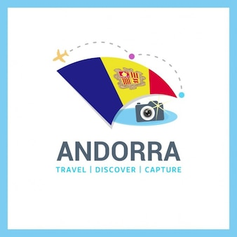 Andorra travel symbol