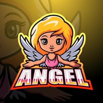 Angel mascotte esport
