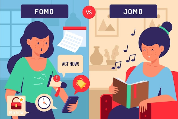 Angst versus vreugde om een concept te missen