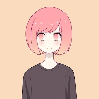 Anime girl karakter