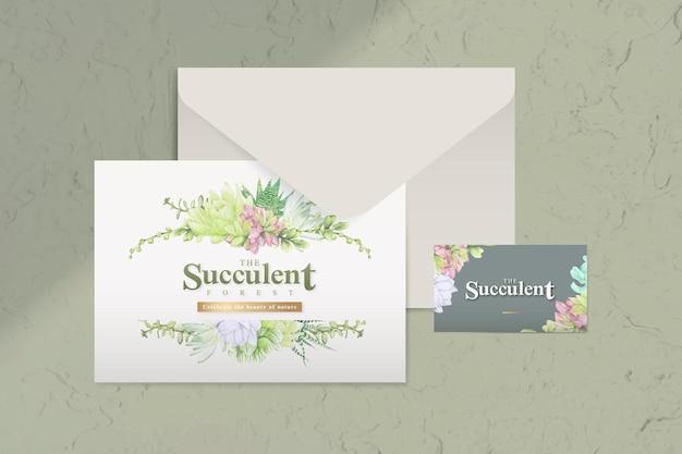 Ansichtkaart en envelop