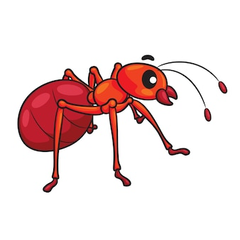 Ant cute cartoon