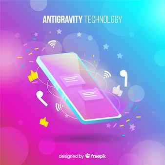 Antigravity-technologie met element