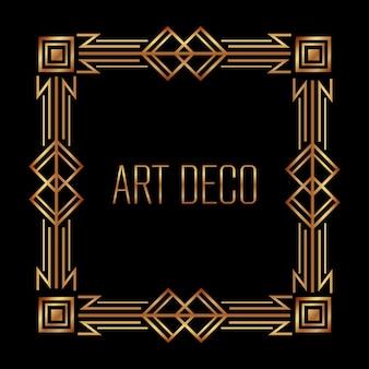 Antiquair frame in art deco-stijl filigraan ornament