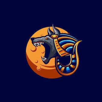 Anubis illustratie