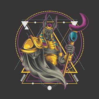 Anubis ontwerp
