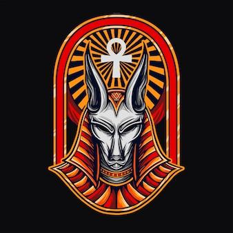 Anubis t-shirt ontwerp