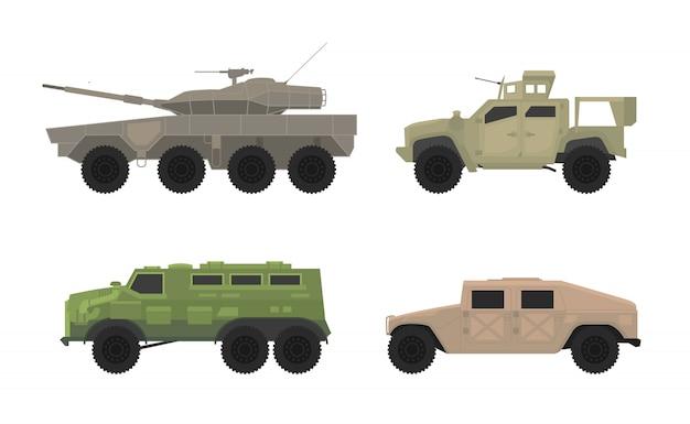 Apc persoonlijke vervoerder voertuig transport set collectie