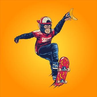 Apen skater