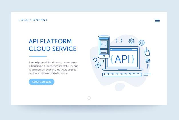 Api-platformillustratie