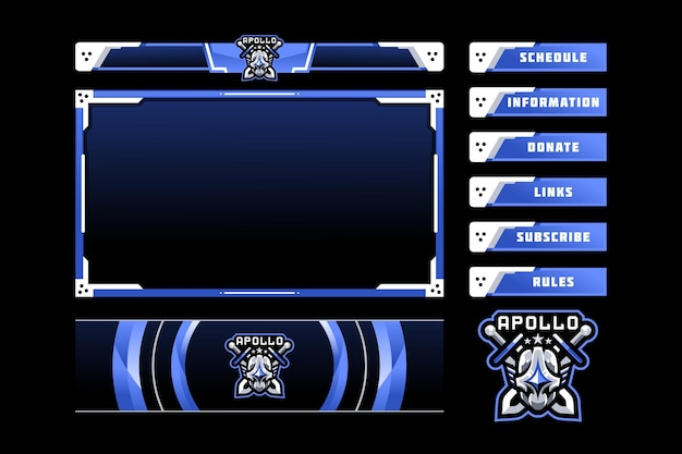 Apollo gaming paneel-overlay
