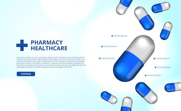 Apotheek pillen capsule geneeskunde gezondheidszorg