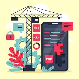 App ontwikkelingsconcept