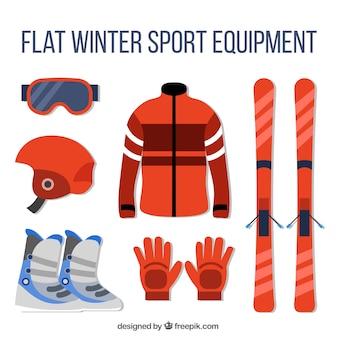 Apparatuur toebehoren voor het skiën