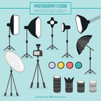 Apparatuur van de fotografie