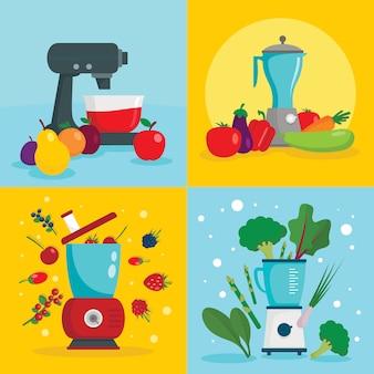 Apparatuur voor keukenmachines
