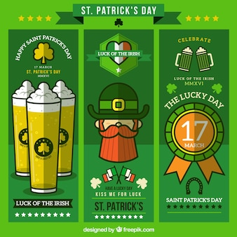 Appartement saint patrick's day banners