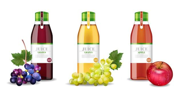 Apple en druiven sapverzameling