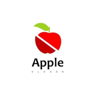 Apple logo ontwerp vector