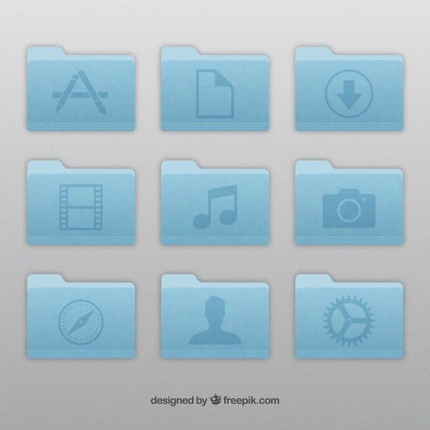 Apple mappictogrammen