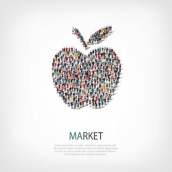 Apple pictogram illustratie
