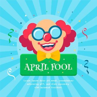 April dwazen dag concept