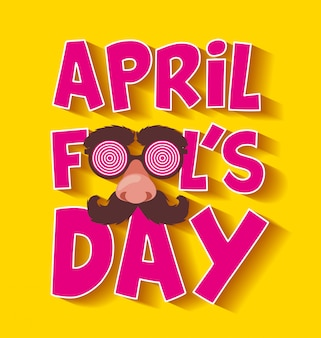April dwazen dag kaart