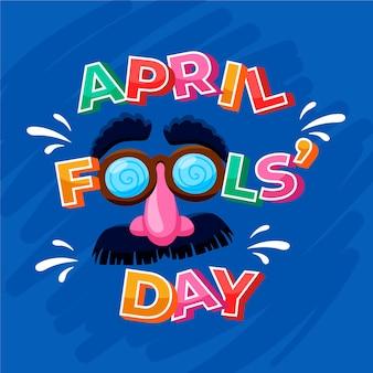 April dwazen dag met masker