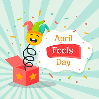 April fools day jack in the box speelgoed