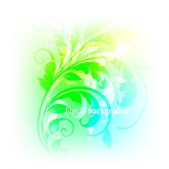 Aqua bubble groen wassen bol