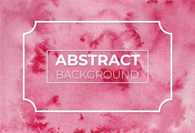 Aquarel abstract karmozijnrood meer modern elegant ontwerp achtergrond