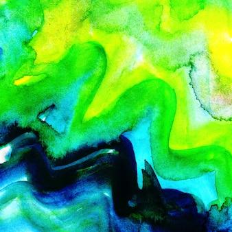 Aquarel abstracte achtergrond kleurrijke splatter