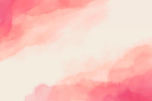 Aquarel abstracte roze vlekken achtergrond