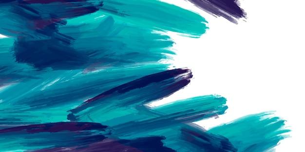 Aquarel achtergrond met penseelstreken