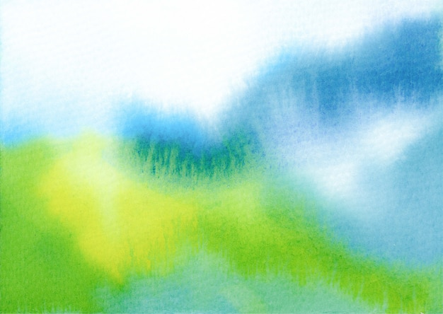Aquarel berg abstracte achtergrond