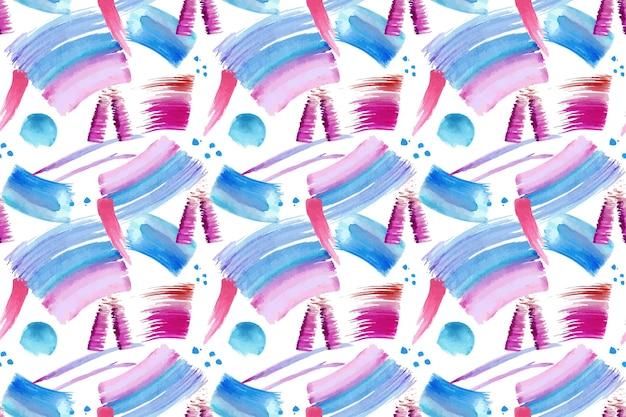 Aquarel beroerte penseelpatroon
