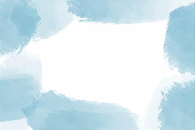 Aquarel blauwe hemel abstracte achtergrond