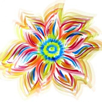 Aquarel bloem design