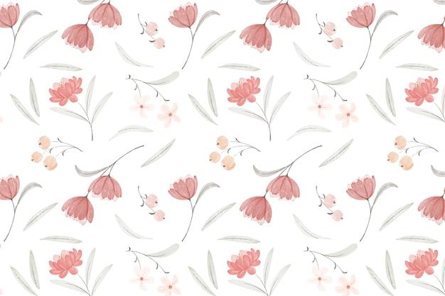 Aquarel boho patroonontwerp