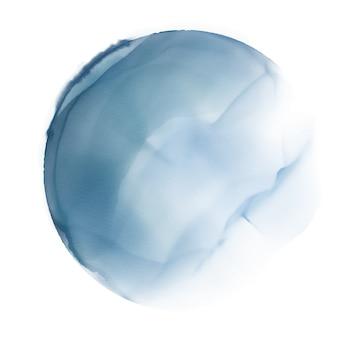 Aquarel cirkel achtergrond