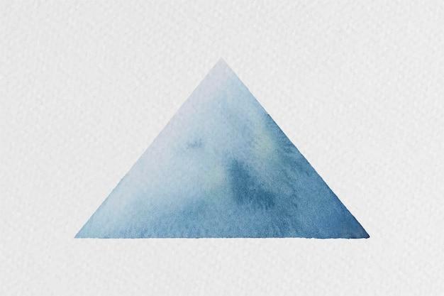 Aquarel driehoek