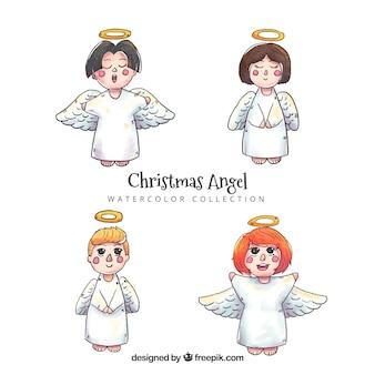 Aquarel engelen pack