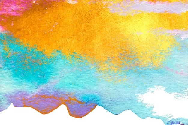 Aquarel gekleurd exemplaar ruimte achtergrond
