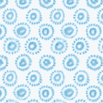Aquarel geometrische shibori patroon