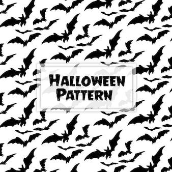 Aquarel halloween patroon achtergrond